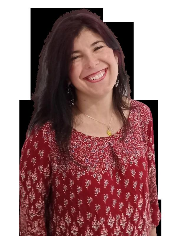 Cristina sonriendo